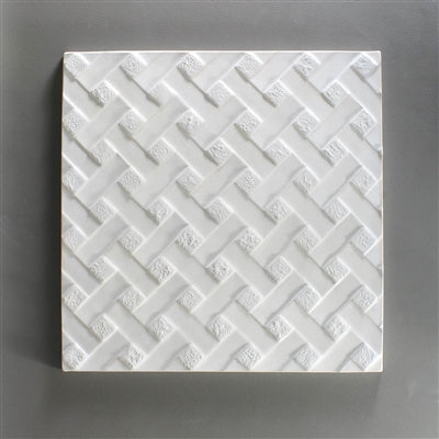 Reverse Weave Texture Mold CPI GX18 9x9 inches Square Glass Fusing Supplies