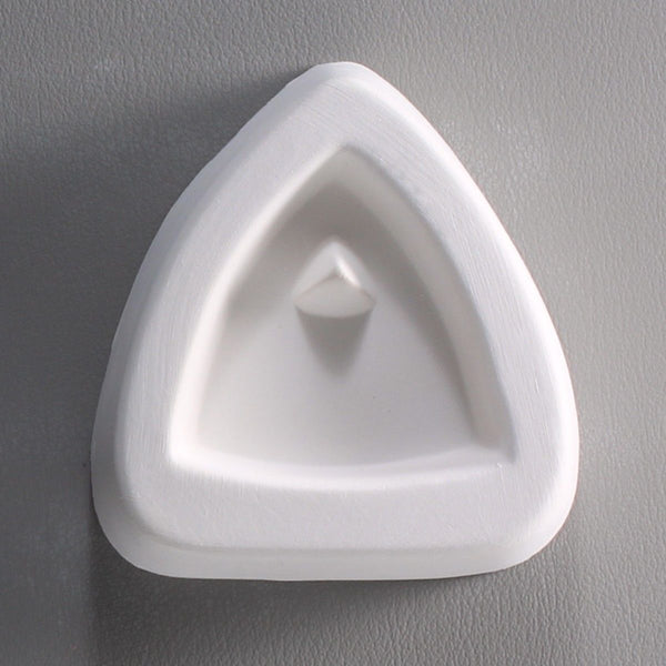 Holey Trillant Triangle Pendant Mold Little Fritter 71 Glass Casting Fusing USA