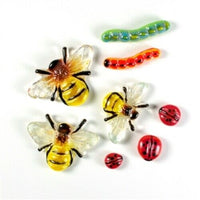 Garden Bug Frit Casting Mold LF145 Creative Paradise Glass Fusing Bee Lady Bug +