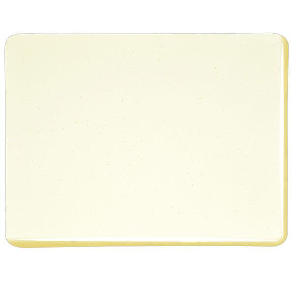 "1820 Pale Yellow Tint Transparent Bullseye 90 COE Glass Sheet 10x10"" 90COE Fusible 001820-0030-F-1010"