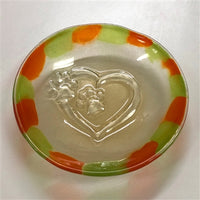 "Dog Bowl Fused Glass Slumping Mold 8"" Creative Paradise GM243 Dish Fusing"