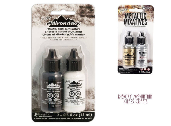 Tim Holtz Ranger ALCOHOL INK MIXATIVES 2 Bottles