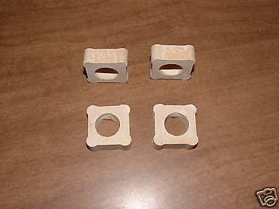 "FOUR 1/2"" by 1"" KILN POSTS Glass Fusing Supplies Durable Ceramic"