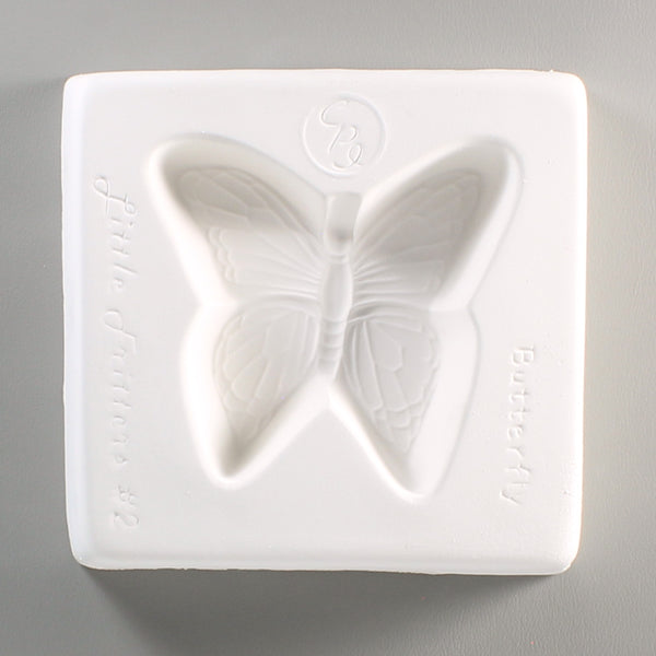 Detailed Butterfly Frit Casting Mold Little Fritters 2 Glass Fusing Supplies 4""