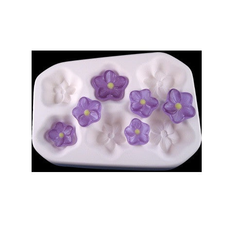 BLOSSOMS Flowers Colour De Verre Glass Frit Casting Mold Fusing Supplies