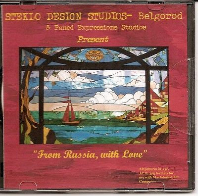AWESOME PATTERNS! Paned Expressions FROM RUSSIA WITH LOVE  Book On CD MIX