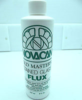 8 Ounces OLD MASTERS STAINED GLASS FLUX for Stained Glass Supplies ORMD