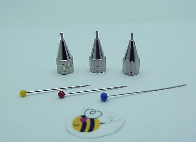 TIP SET GLASSLINE COLOR Pen Glass Paint FINE MEDIUM BOLD Fusing Supplies