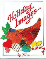 HOLIDAY IMAGES Christmas Thanksgiving Halloween Easter Valentines + Pattern Book