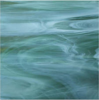 FR17F Sea Green and Opal Wispy Fuser's Reserve 12 x 12 inch 17
