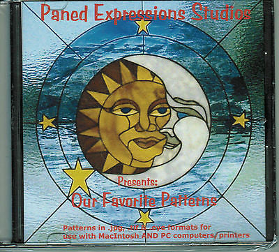 OUR FAVORITE PATTERNS Paned Expressions CD Patterns Mix Software + BONUS