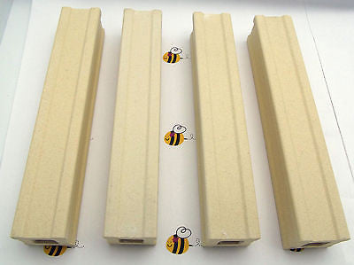 Kiln Posts 6 X 1 in Set of FOUR Fusing Furniture Slump Durable Ceramic Reusable