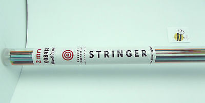 Full Tube 5 oz BULLSEYE Glass Stringer 2mm MIXED 8418 90 COE Fusing Lampwork