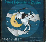KIDS' STUFF Paned Expressions PATTERN Book on CD Stained Glass + BONUS