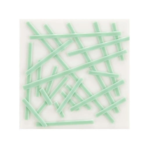 2222 Pastel Green Opal Noodles System 96 Full 5 oz Tube Fusing Supplies