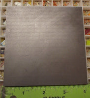 4 x 4 x .25 inch Graphite Pad For Hot Glass & Lampworking Marver Supplies