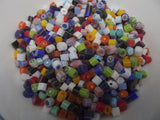 1/2 Pound 5-6mm Millefiori Slices Transparent Glass Lampworking Moretti Effetre