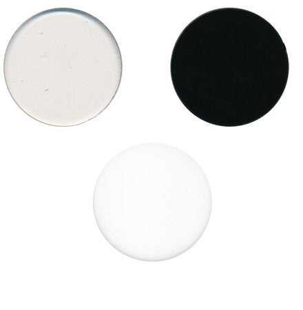 "3"" 96 COE Precut CIRCLE Choice of Color and Transparency 3mm Thick Glass White Clear Black"