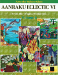 AANRAKU ECLECTIC Volume 6 Stained Glass Pattern Book Great Mixed Patterns