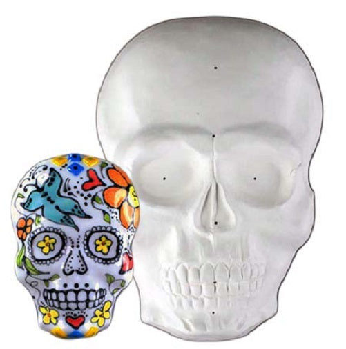 "Skull Draping Mold Glass Fusing Supplies Creative Paradise GM214 5.5"" x 8.25"""