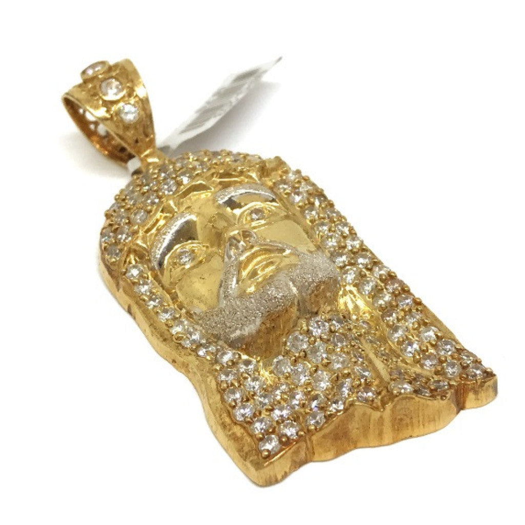 Jesus Primo 10K Yellow Gold 16.7 Gr Men Pendant - Solid Gold Online