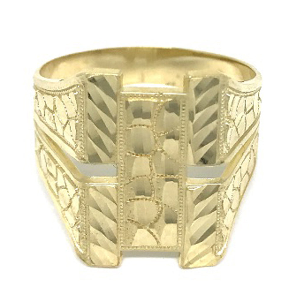 Best Style Ring 10K Yellow Gold Men's 4.0 Grams for Men - Solid Gold Online