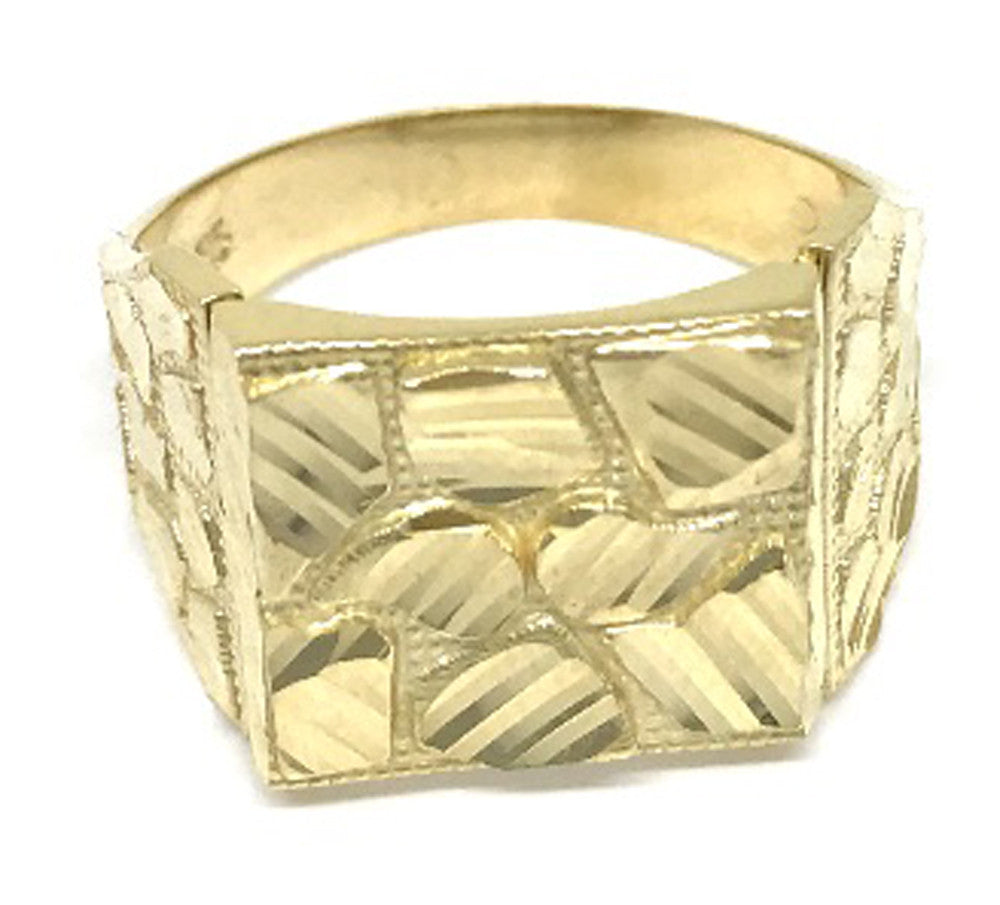 Stylish Solid Gold 10K Yellow Gold 6.2 Grams Ring for Men - Solid Gold Online