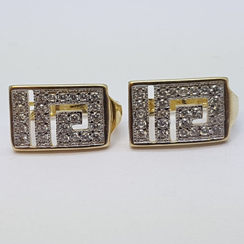 10K Yellow Antheia Gold Earrings - Solid Gold Online