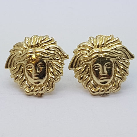 10K Yellow Aphaea Gold Earrings