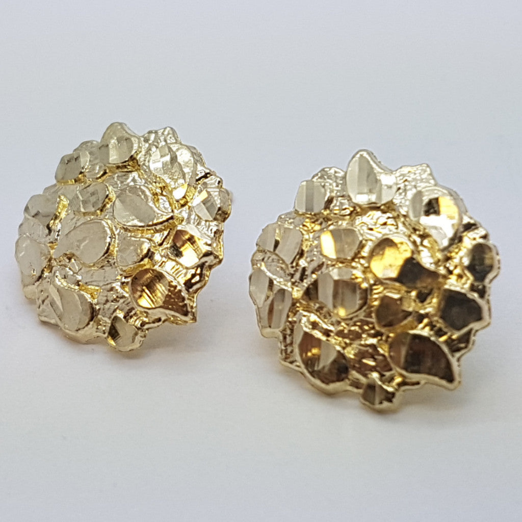 10K Yellow Aphrodite Gold Earrings