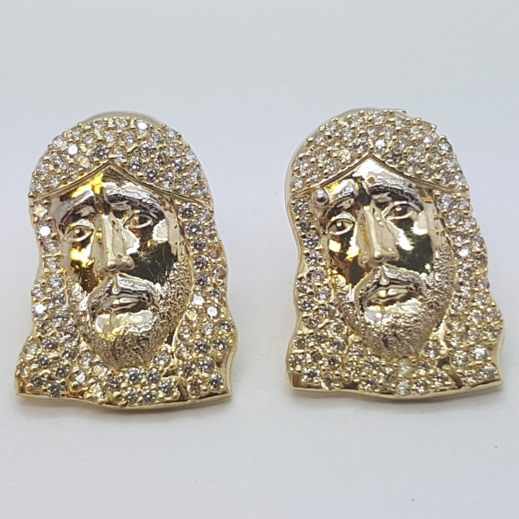 10K Yellow Demeter Gold Earrings - Solid Gold Online