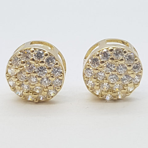 10K Yellow Eileithyia Gold Earrings - Solid Gold Online