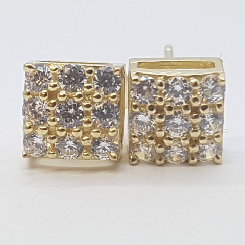 10K Yellow Enyo Gold Earrings - Solid Gold Online