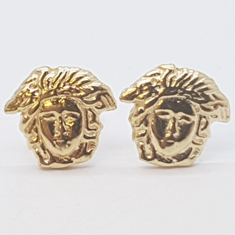 10K Yellow Euterpe Gold Earrings