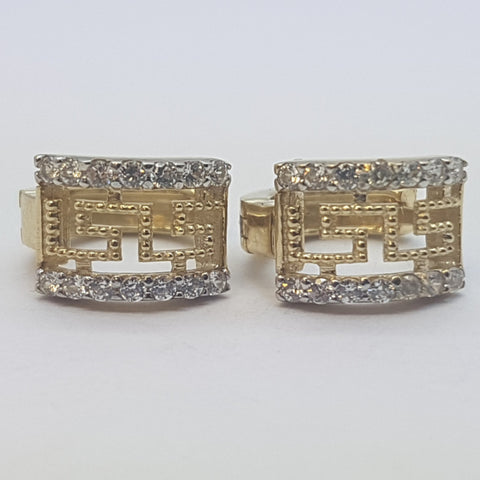 10K Yellow Harmonia Gold Earrings