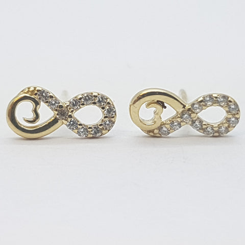 10K Yellow Hera Gold Earrings