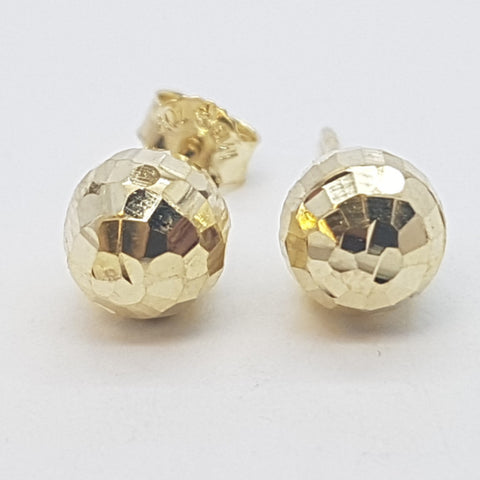 10K Yellow Mania Gold Earrings