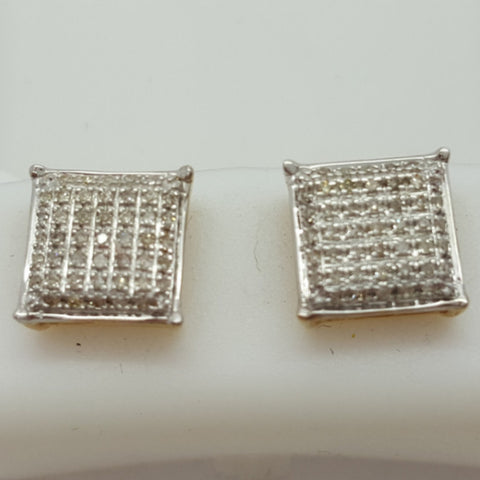 10K Yellow Telfs 0.35 Diamond Gold Earrings
