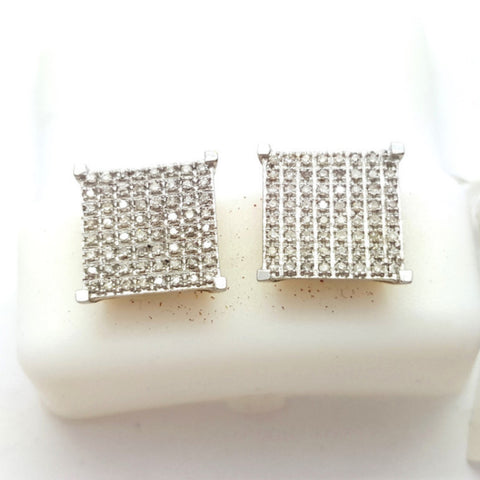 10K Yellow Wels 0.35 Diamond Gold Earring