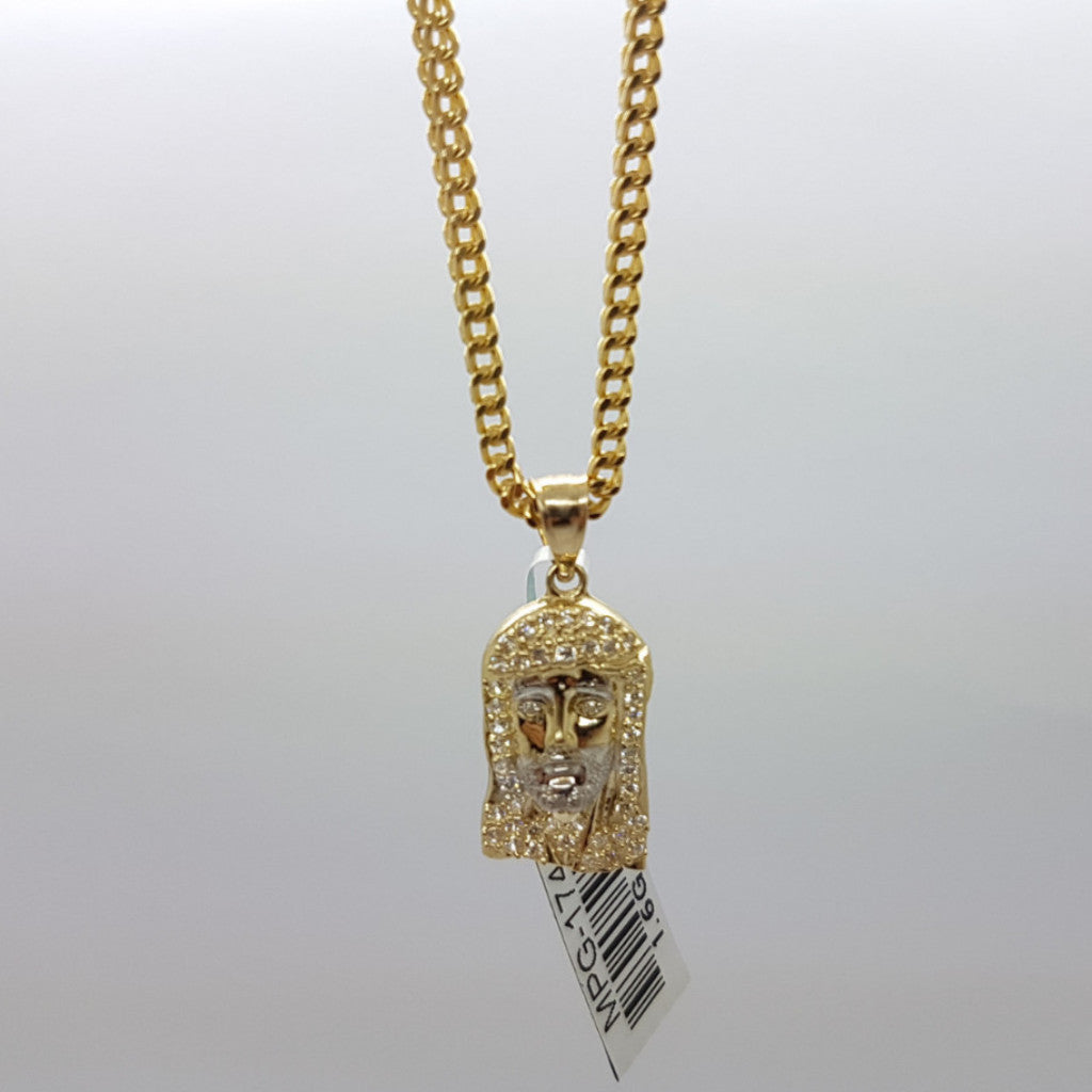 10k Yellow Gold Franco Chain Abbe Necklace - Solid Gold Online
