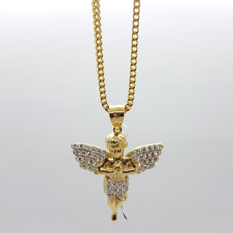 10k Yellow Gold Franco Chain Atlamura Necklace