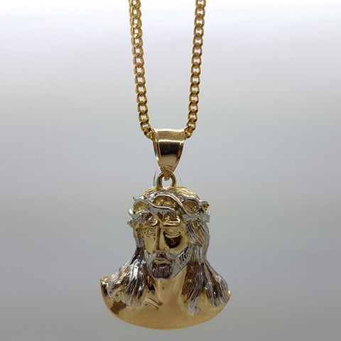 10k Yellow Gold Franco Chain Batista Necklace