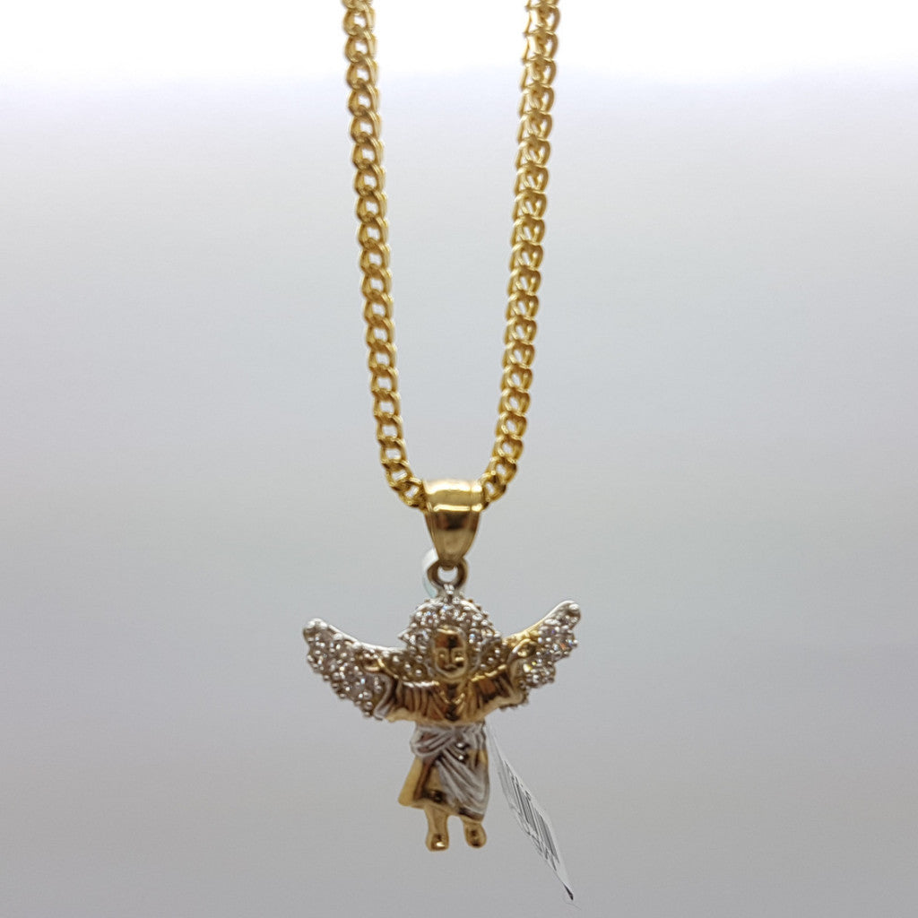 10k Yellow Gold Franco Chain Benito Necklace