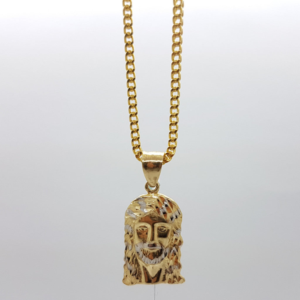 10k Yellow Gold Franco Chain Jepnoah Necklace