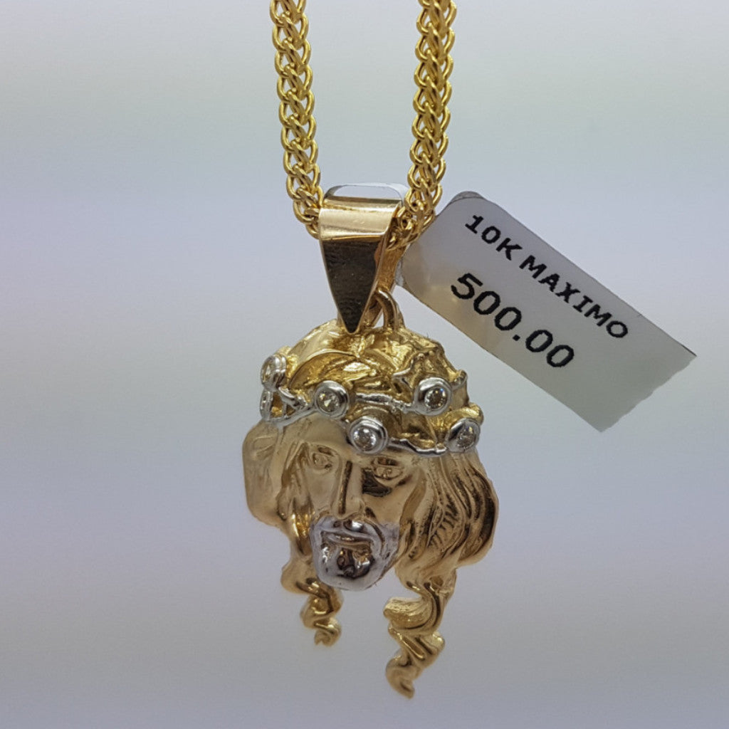 10k Yellow Gold Franco Chain Maximo Necklace