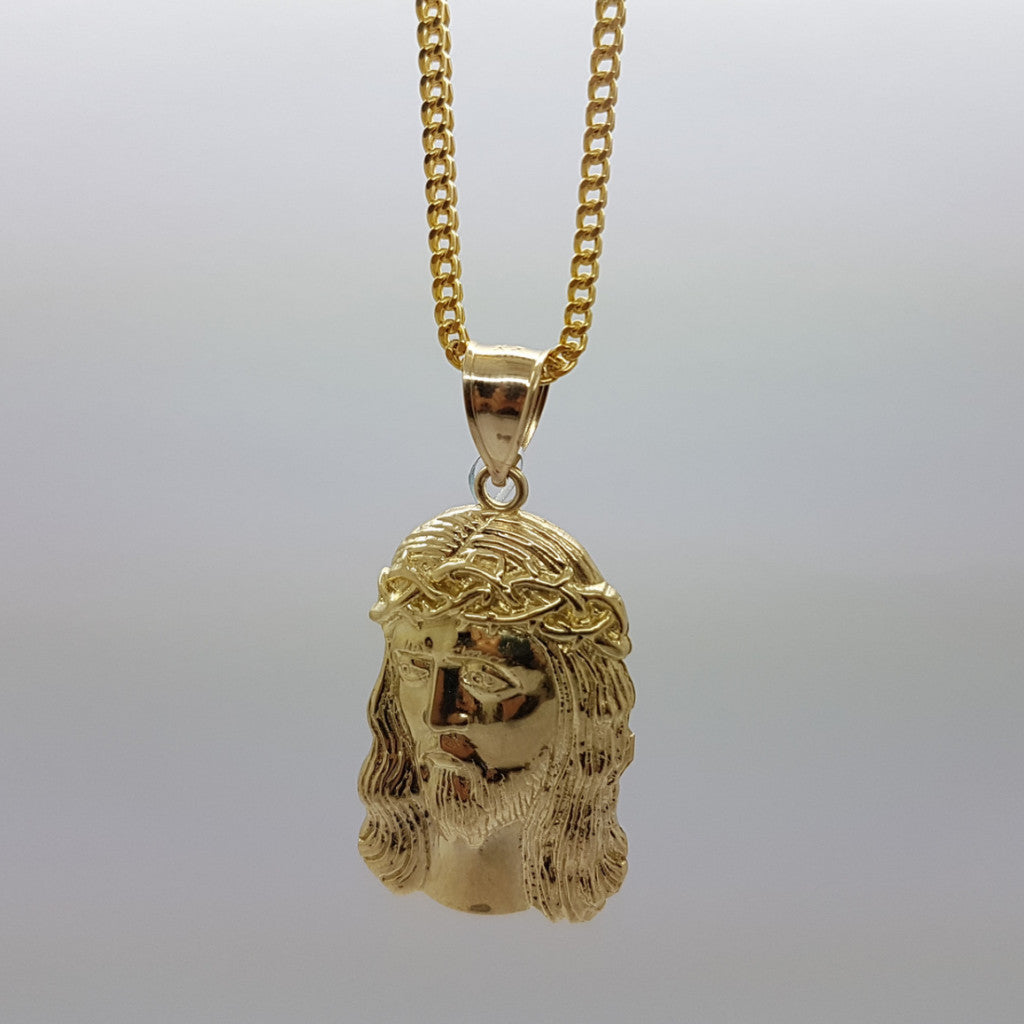 10k Yellow Gold Franco Chain Michele Necklace
