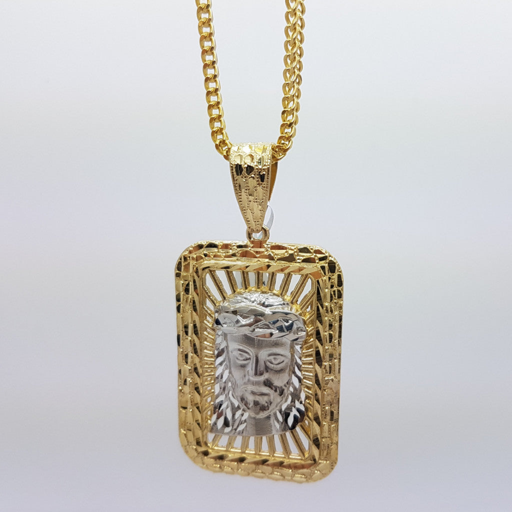 10k Yellow Gold Franco Chain Modesto Necklace