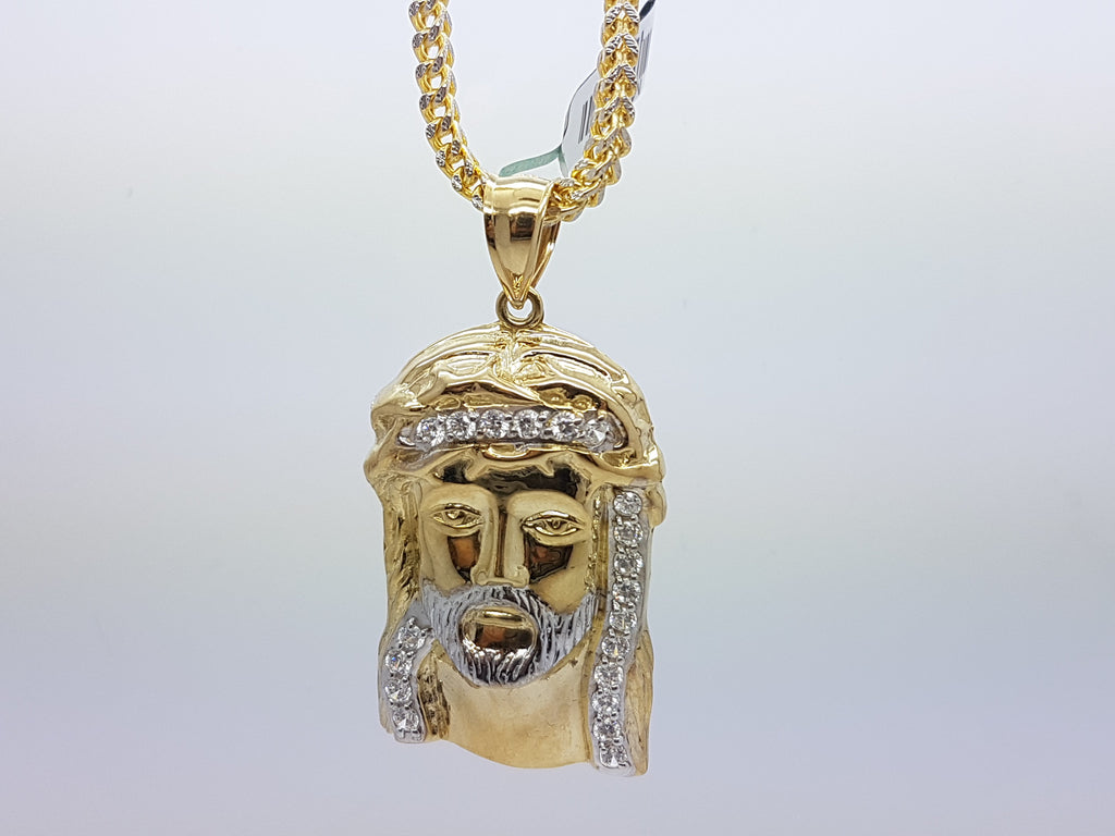 10k Yellow Gold Franco Chain Nino Necklace