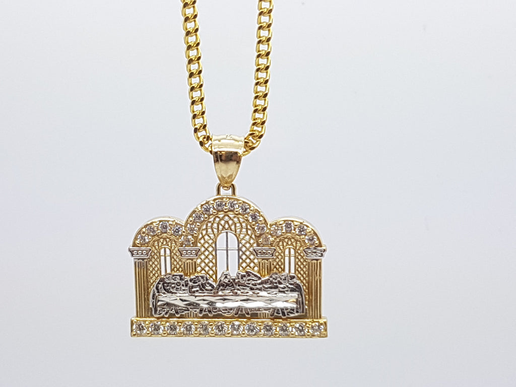 10k Yellow Gold Franco Chain RDJ2 Necklace