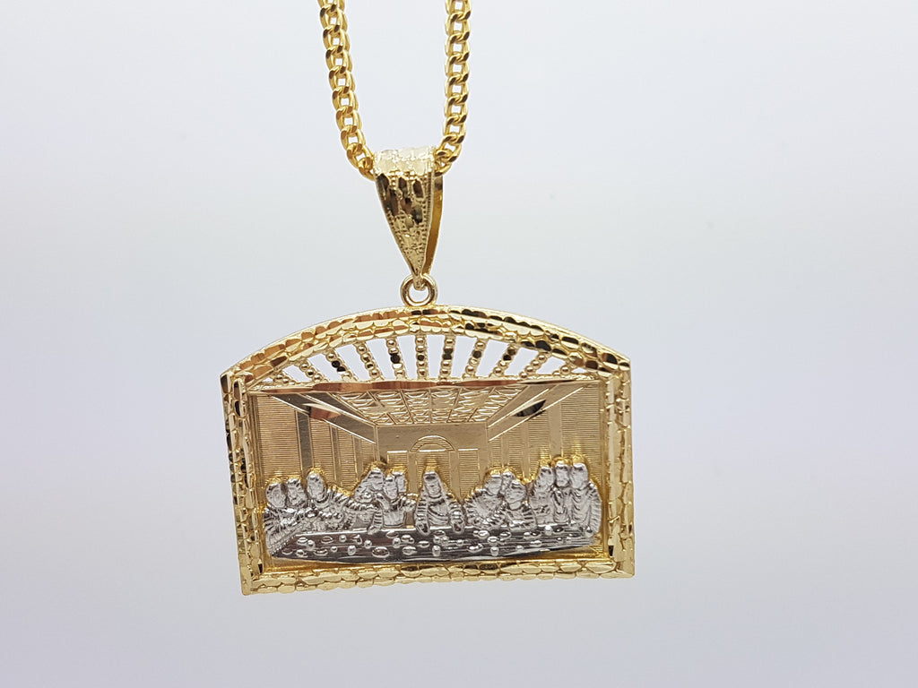 10k Yellow Gold Franco Chain RDJ3 Necklace